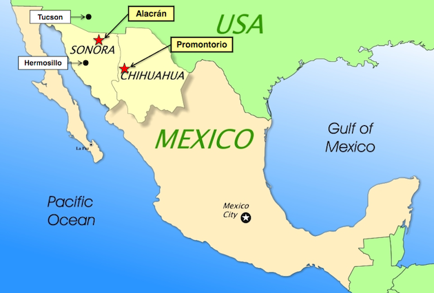 Azure Minerals Strikes Silver and Gold in Mexico