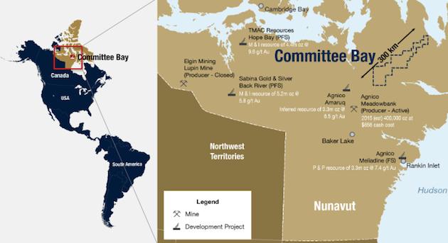 Auryn Committee Bay Map