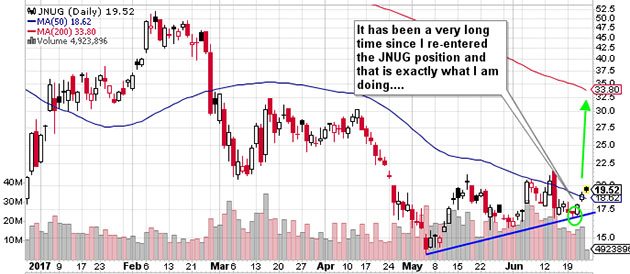 JNUG chart