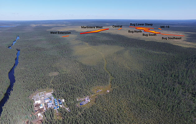 Martiniere Zones Aerial Photo