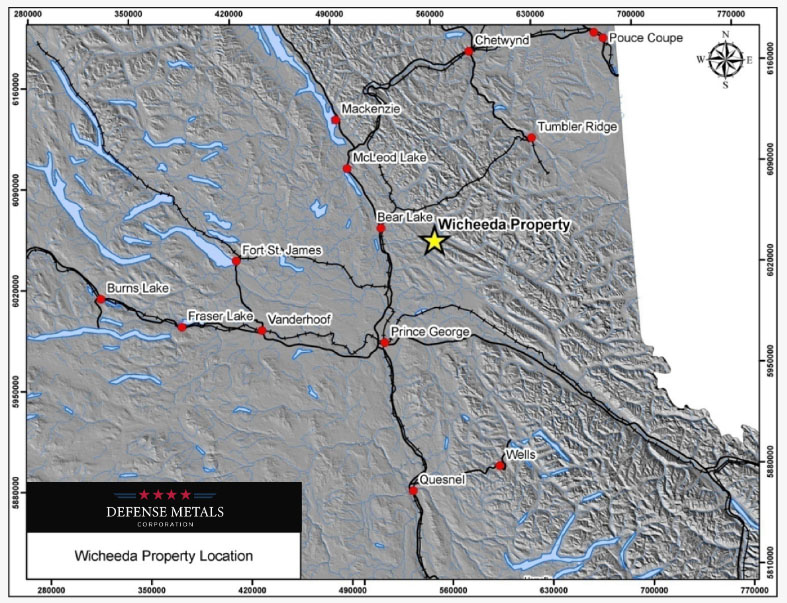 Firm's British Columbia Property Returns 4.81% Light Rare Earth Oxide