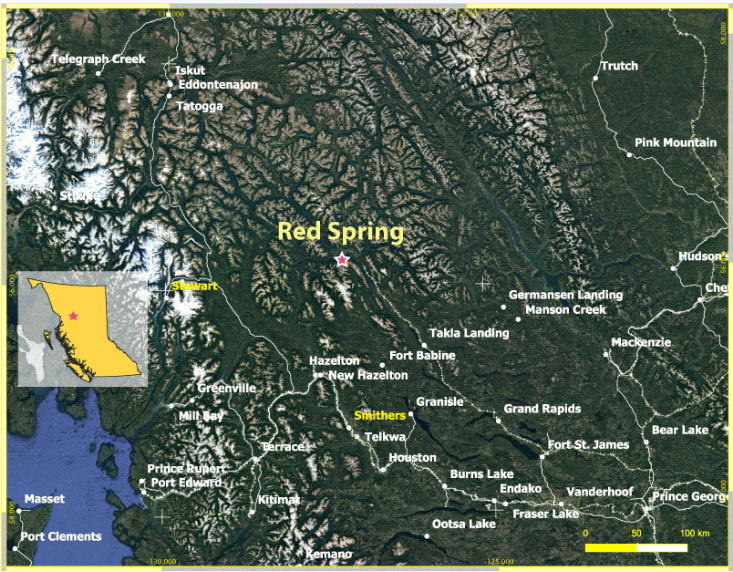 Mineral Resource Firm Options BC Copper-Silver-Zinc Project