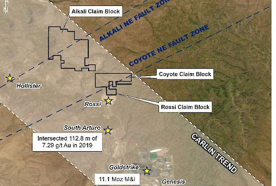 Explorer Puts Focus on North Carlin Project