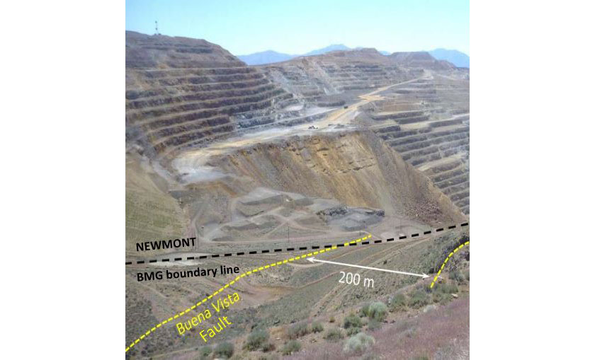 Battle Mountain's Lewis Property Adjacent to Newmont's Phoenix Mine