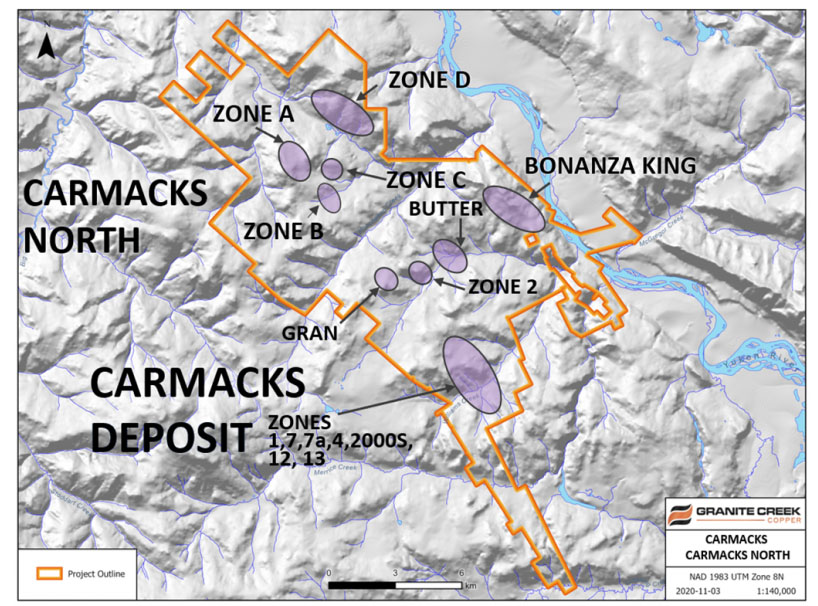 Copper Company Reports First Drill Results from Yukon Deposits