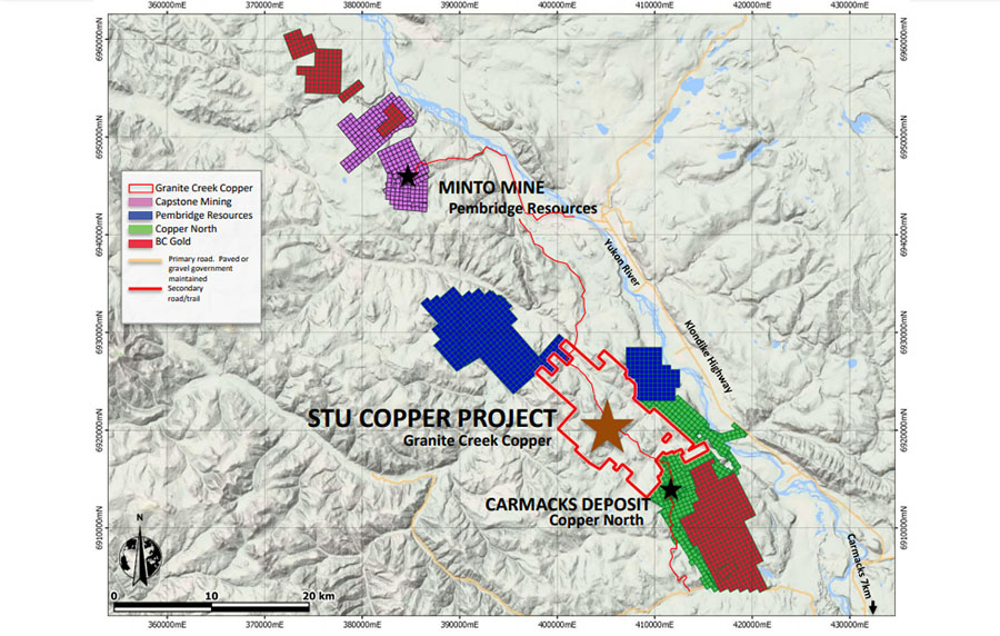 Junior Explorer Begins Field Work on Copper-Gold Prospect in Yukon Territory