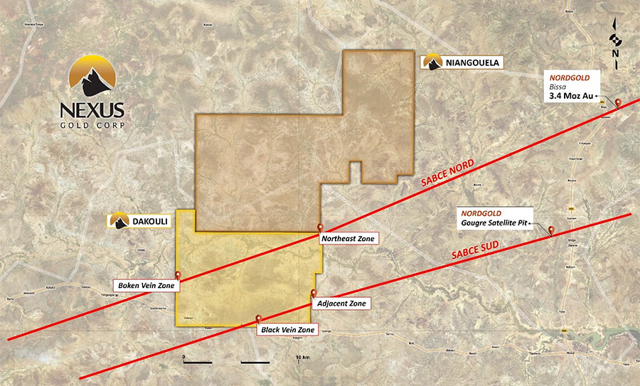 Company Extends Strike Length at Gold Project