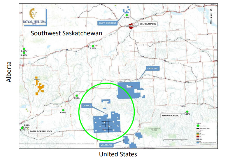 Coverage Initiated on Helium Explorer with Prospective Saskatchewan Lands