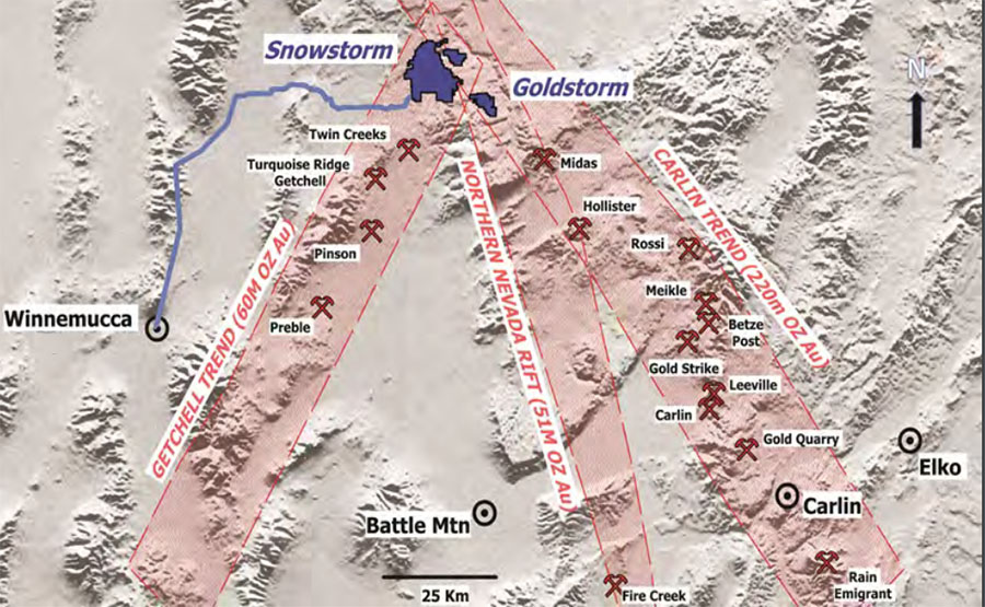 Resource Explorer Commences Drilling at Northern Nevada Project