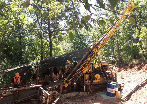 Drill Rig on Rozino Project