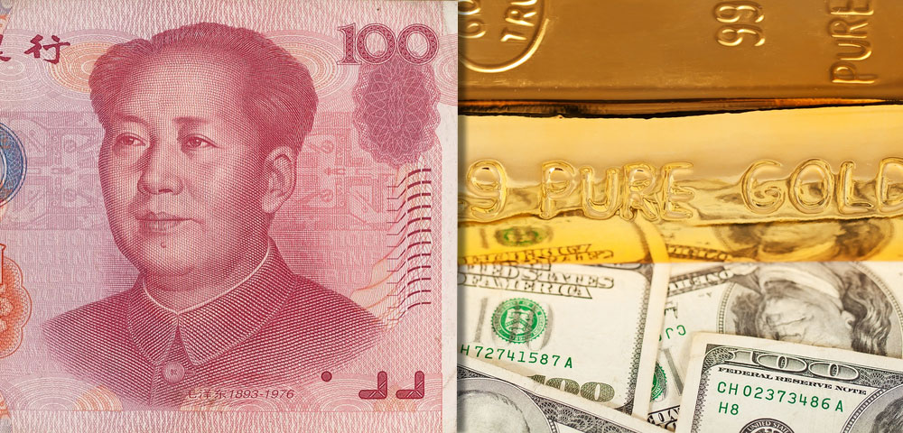 CHINA GOLD and the US DOLLAR