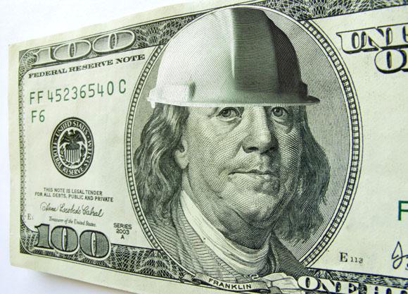 Dollar hard hat