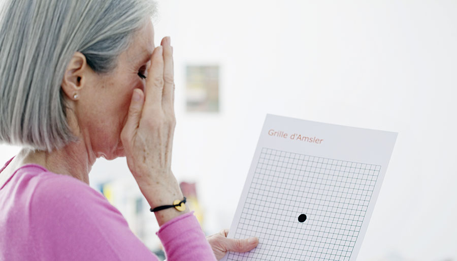 Eye disease, test