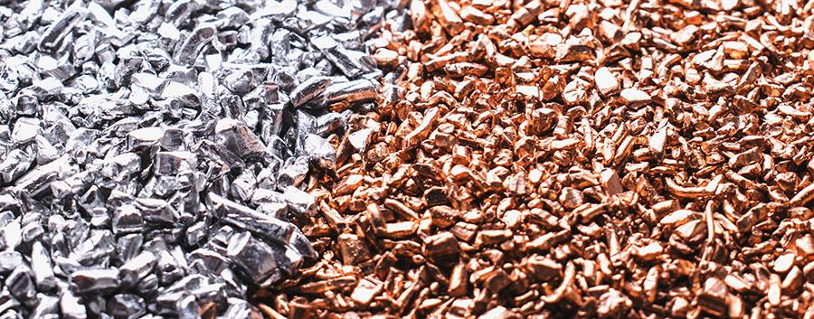 copper silver bits