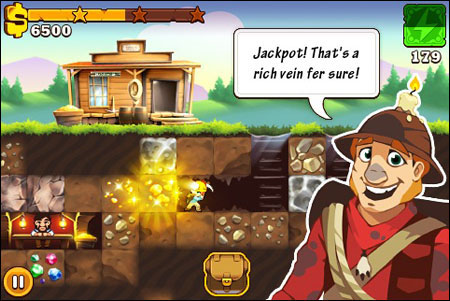 California Gold Rush video game