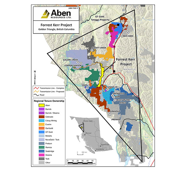 Golden Triangle, Aben Resources