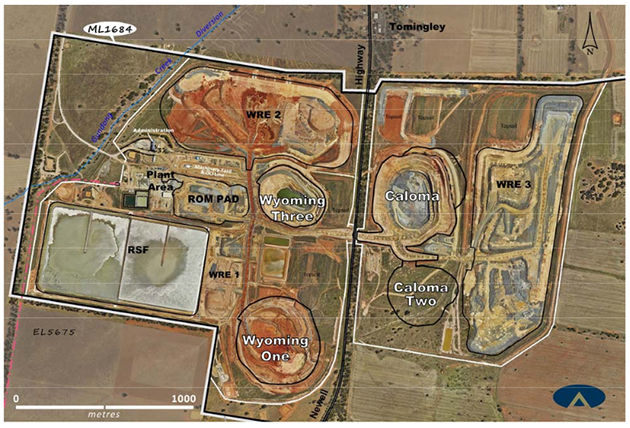 Alkane's Tomingley Gold Operations