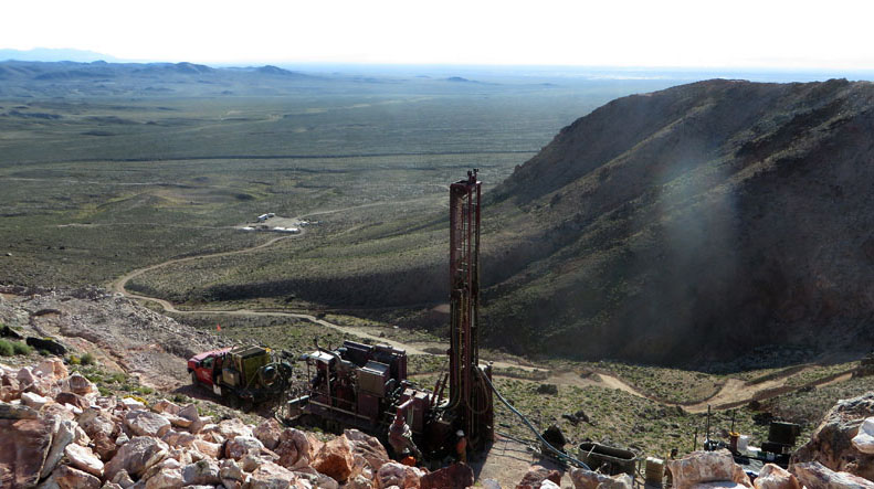 Drilling at Nevada Site Extends Gold Mineralization