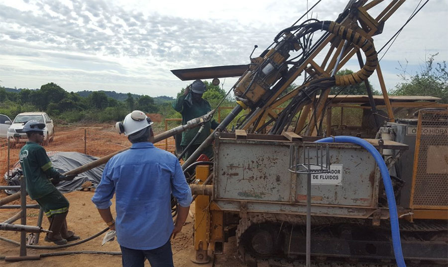 Drilling at Cajueiro