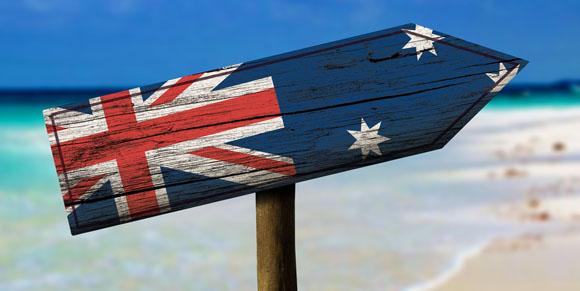 Australia arrow