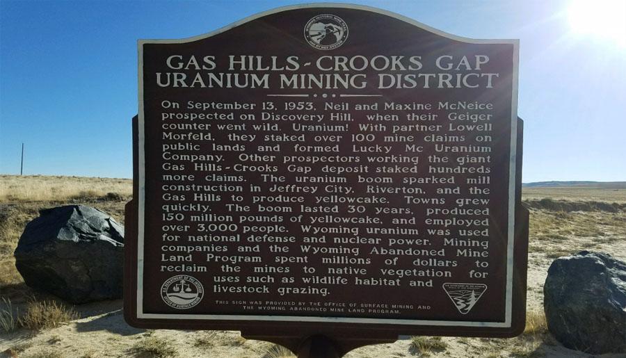 Azarga Uranium Gas Hills