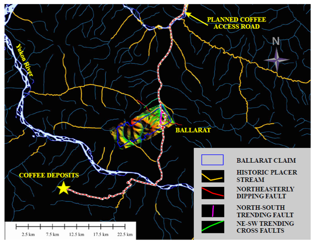 Ballarat site map