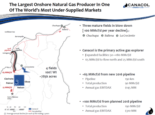 Largest Onshore Natural Gas Producer