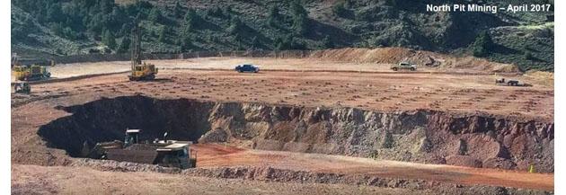 North Pit Mining