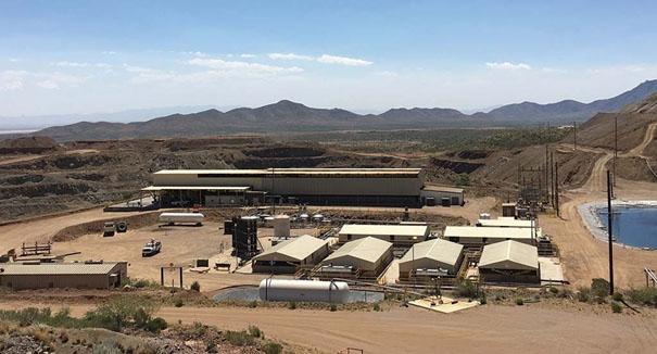 Johnson Camp Mine