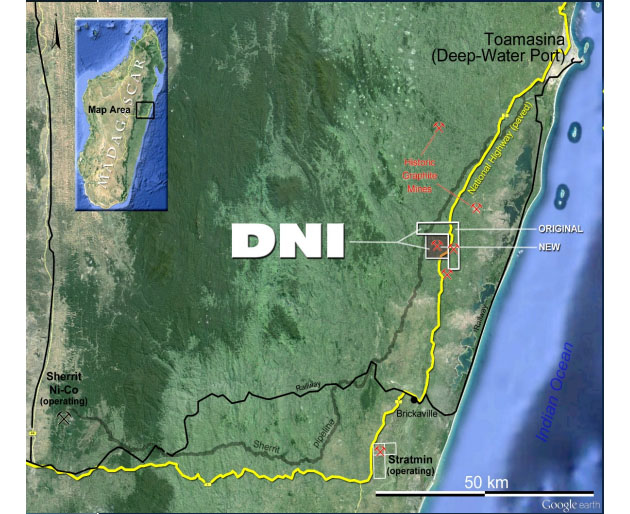 DNI Project Map