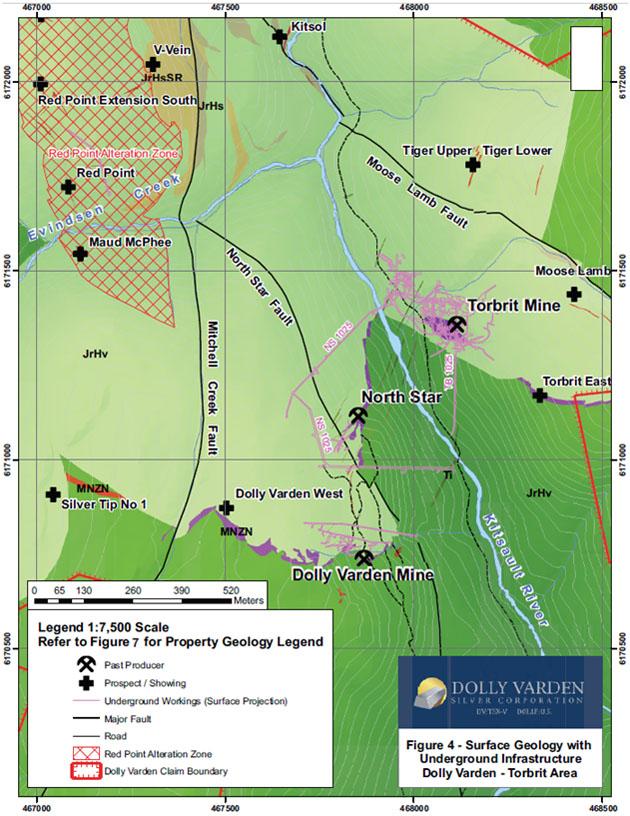 Torbrit Surface Geology