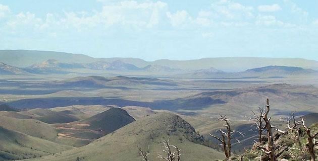 Rattlesnake Hills Gold Project Landscape