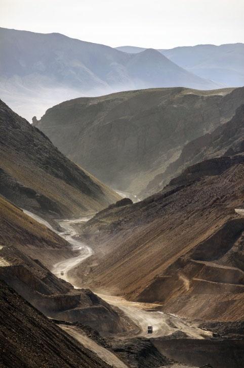 Access road Pirquitas Mine