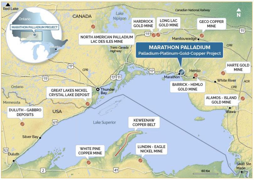 Generation Mining Map