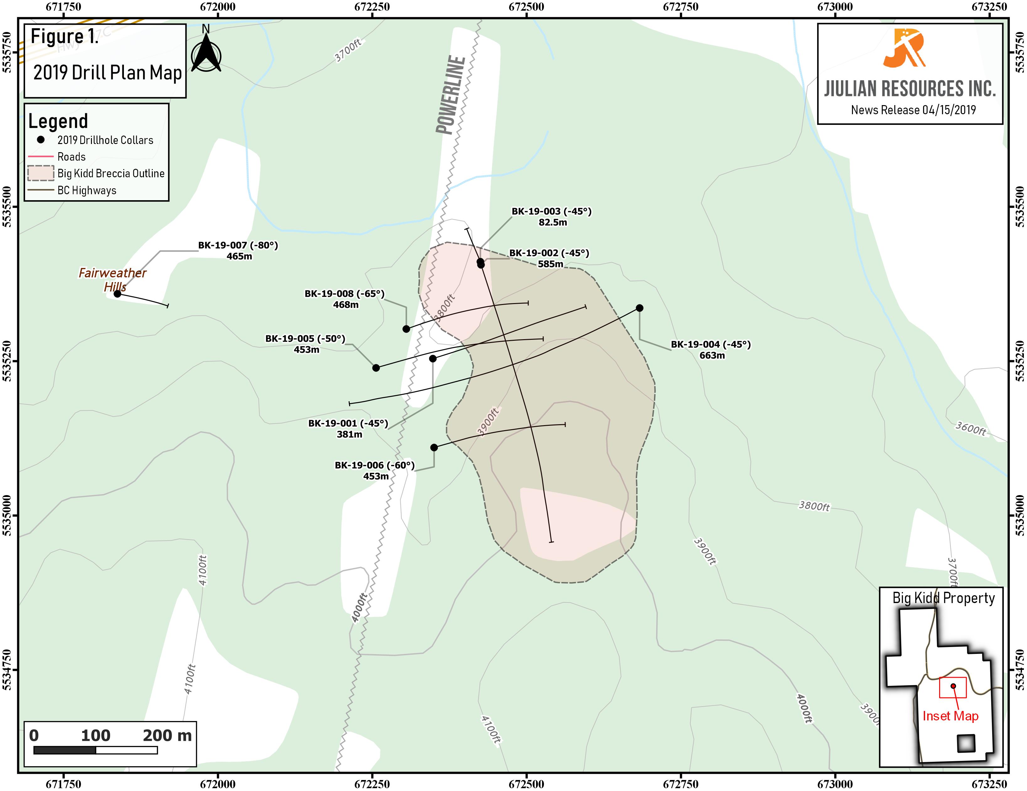 Jiulian Map