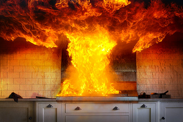 Home Cooking Fires Four Times More Likely On Thanksgiving