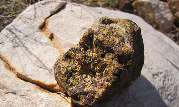 Kimberlite rock
