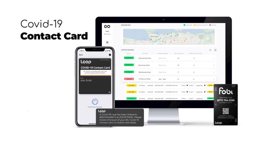 Loop Contact Card