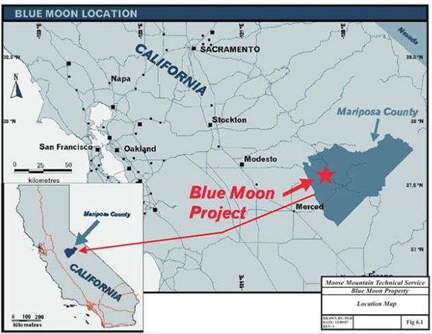 Blue Moon Project Map
