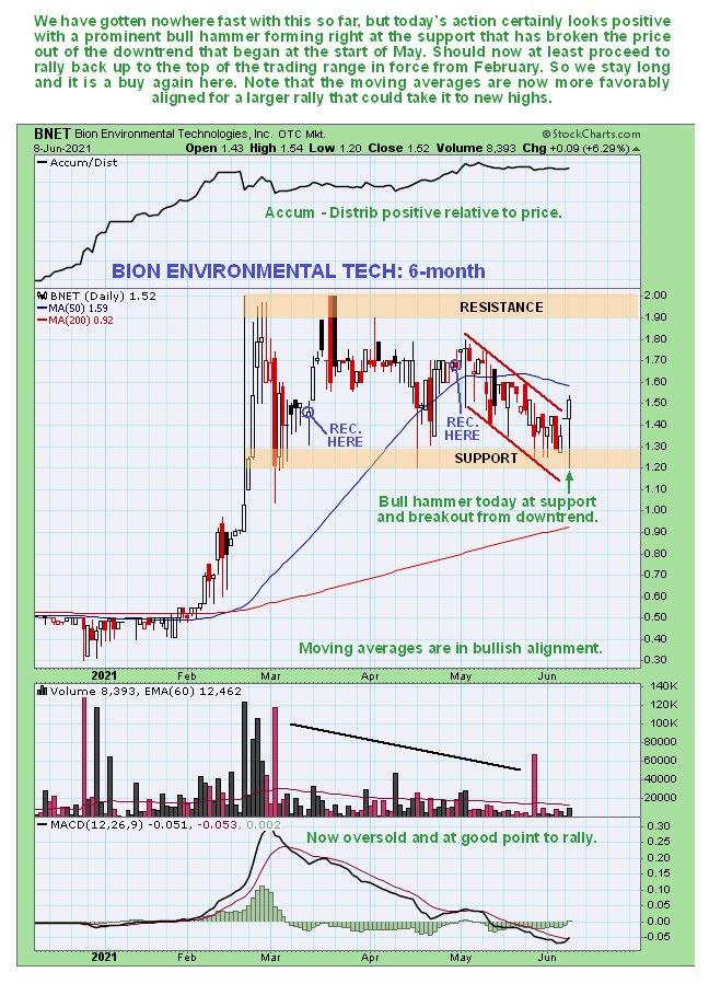 Bion Environmental Technologies chart