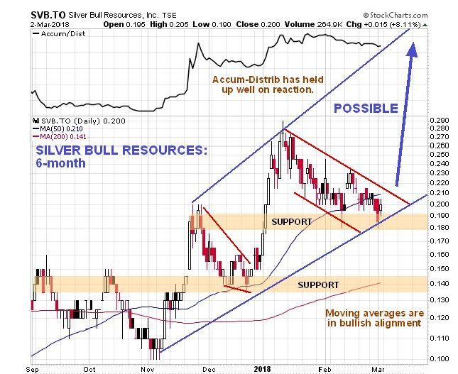 Silver Bull Chart