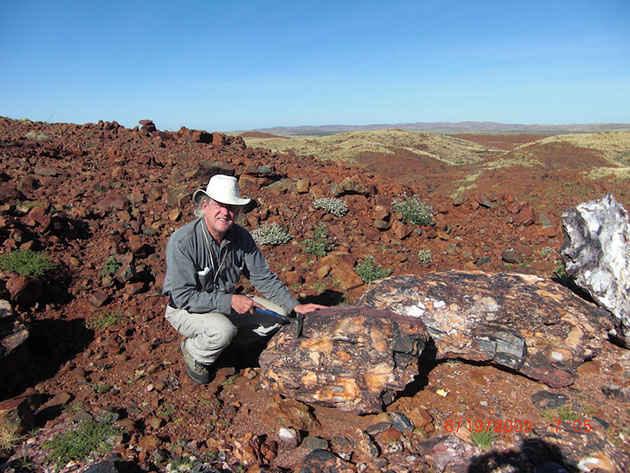 Bob Moriarty in Pilbara