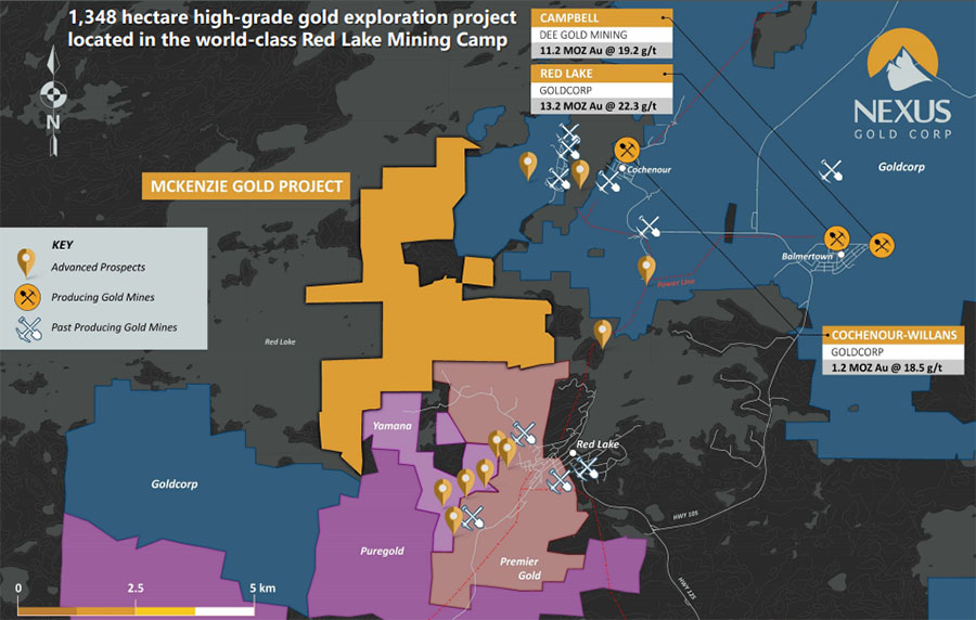 Nexus McKenzie Map