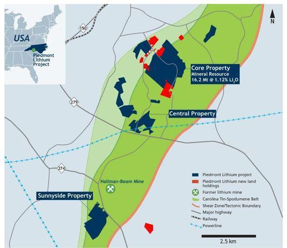 Maiden Resource Estimate for North Carolina Lithium Project 'Demonstrates the Quality of the Deposit'