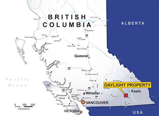 Daylight Property Location Map