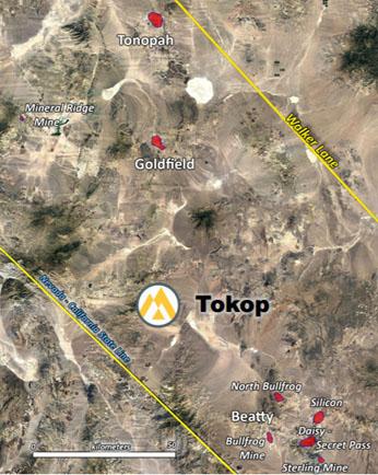 Tokop Map