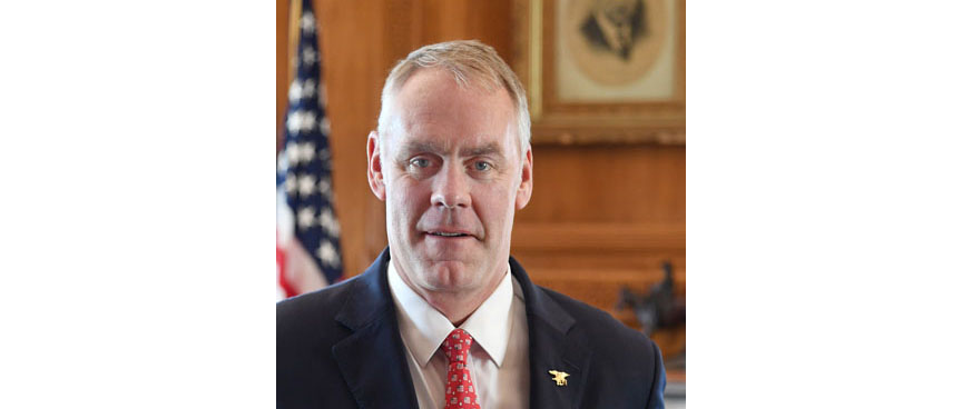 Ryan Zinke Official Portrait