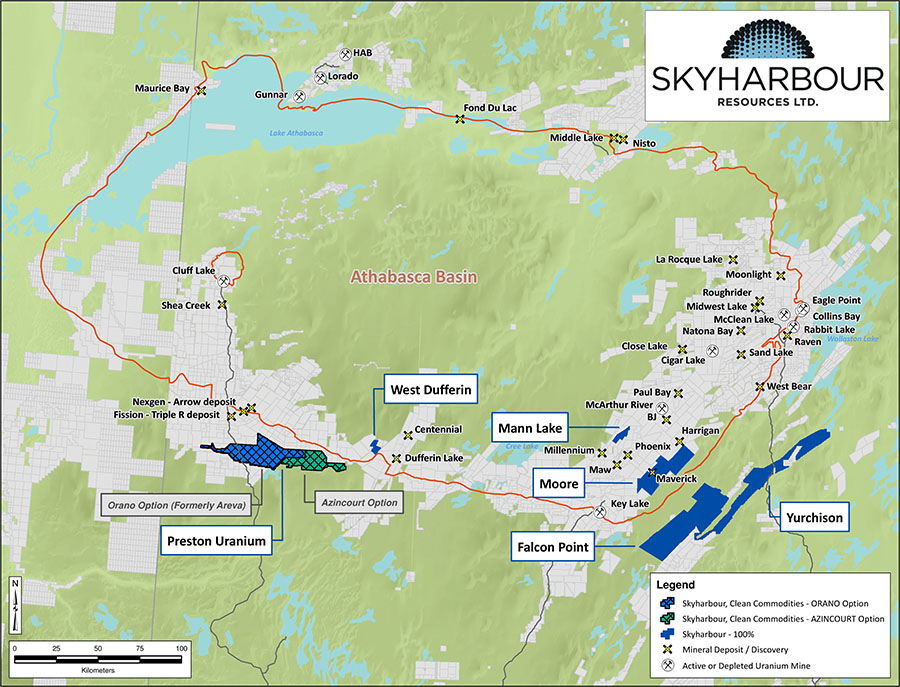 Skyharbour map