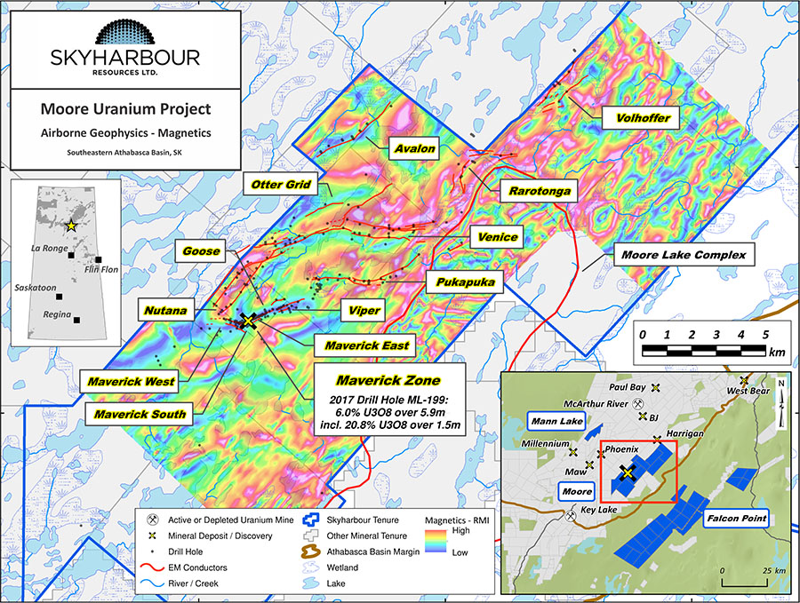 Skyharbour Moore Uranium Project