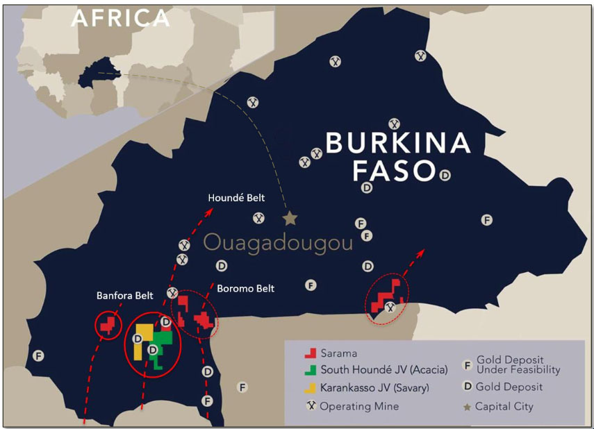 Sarama's Burkina Faso Projects